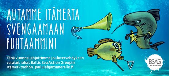 EKE-Yhtiöt tukevat Itämeren suojelua