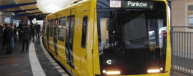 EKE on board the Berlin Metro