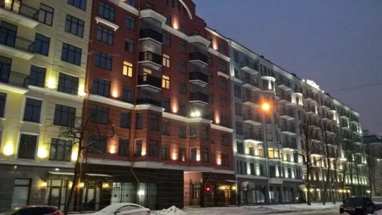 EKE's residential complex Dve Epohi was again voted as the best new building on the Vasiliyevsky island in St. Petersburg