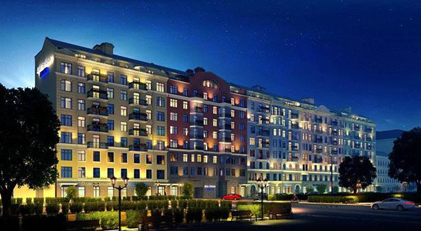 EKEs bostadsförsäljning startade i St. Petersburg