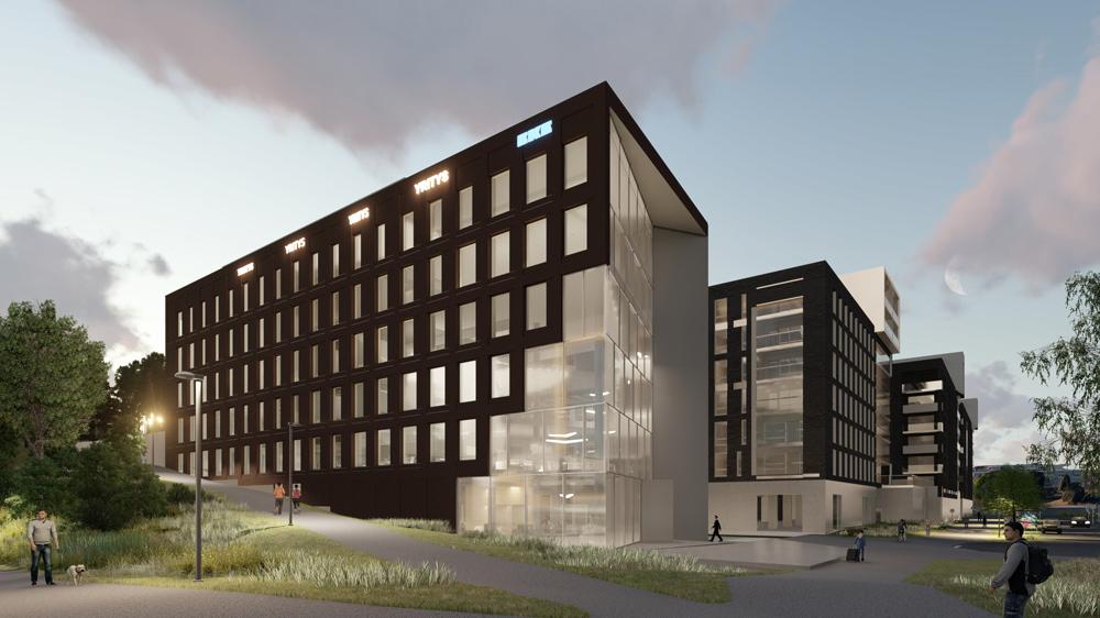 Строительство офисных зданий и производственных комплексов