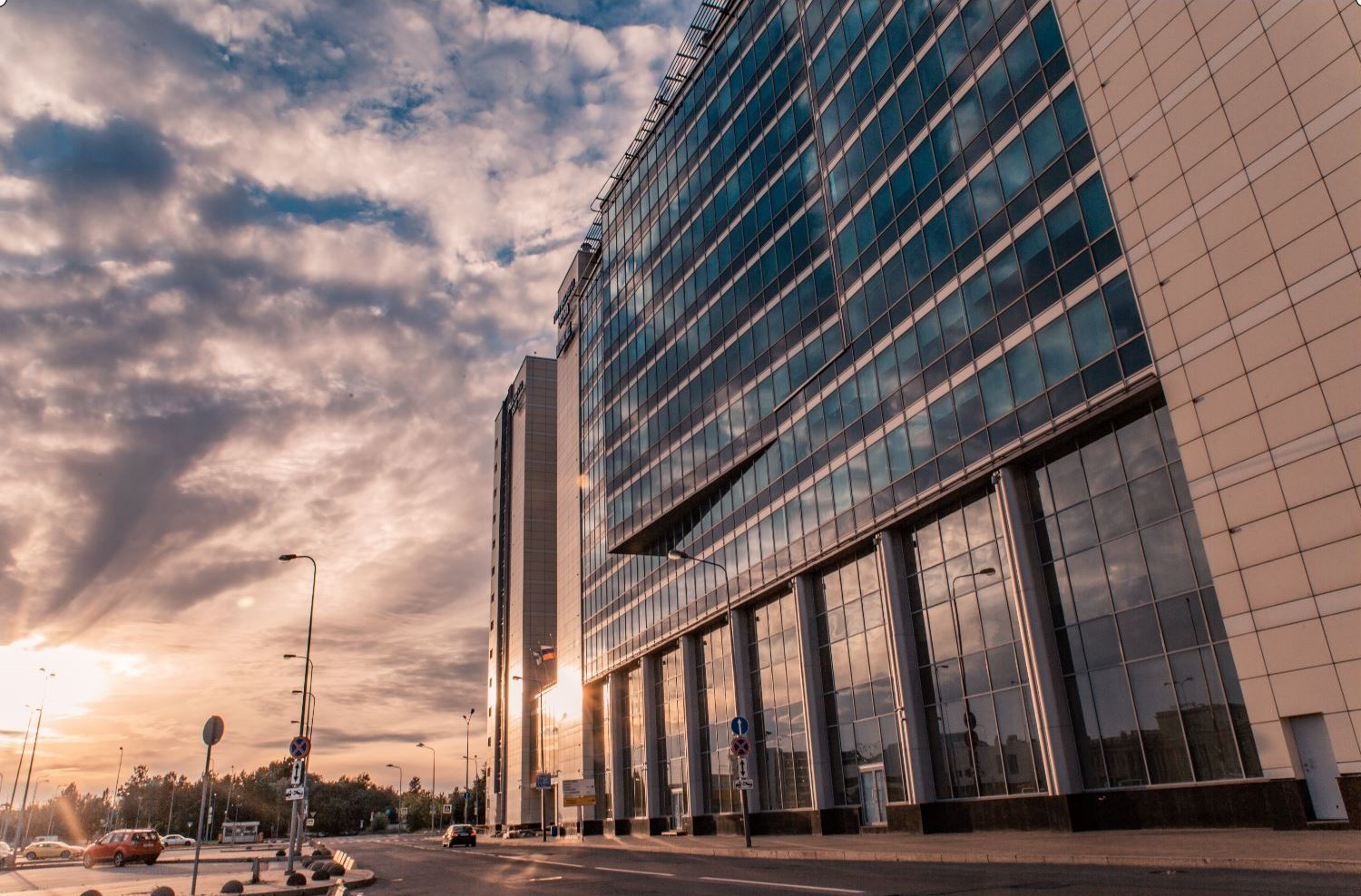 Pulkovo Sky Business Centre in St. Petersburg - among the top business centers in Russia.